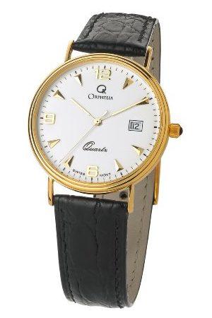 ORPHELIA Analog kvartsklocka för män med läderrem MON-7081/1