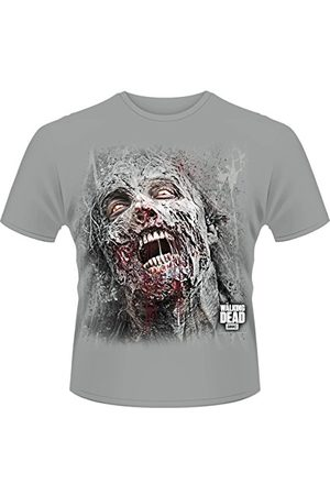 Plastic Head Plasthuvud herr Walking Dead The Jumbo Walker ansikte band krage kortärmad t-shirt