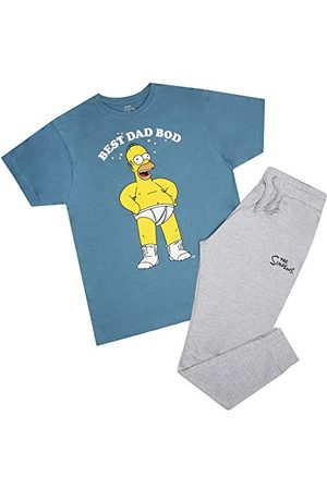 The Simpsons Mäns bästa pappa-bod pyjamas set pyjamas
