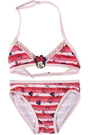 Cerdá Bikini för flickor Niña Mimmi Mouse De 2 Piezas-4 Años badshorts, Rojo, Pequeño