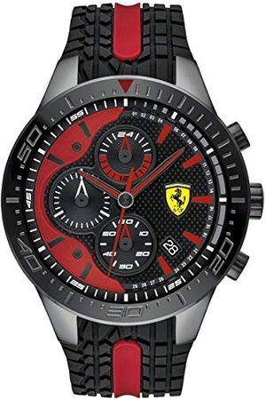 Scuderia Ferrari Herr kronograf kvartsklocka med silikonrem 0830592