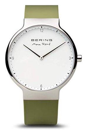 Bering Herrarmbandsur analog kvarts silikon 15540-800