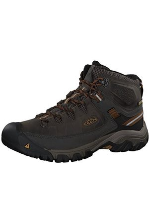 Keen Herr-Targhee Iii Mid Wp höga höjda vandringsskor, Black Black Olive Golden Brown Black Olive Golden Brown10 UK