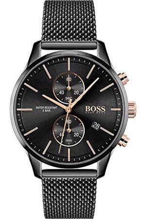 HUGO BOSS Kvartsklocka med rostfritt stål armband 1513811