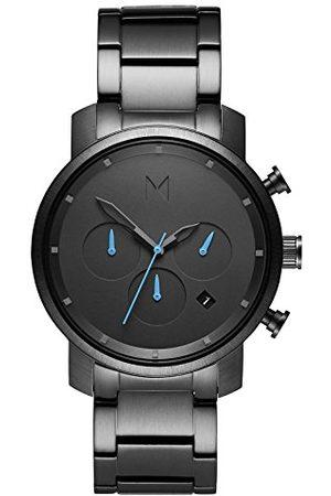 MVMT Herr kronograf kvartsur med rostfritt stål armband D-MC02-GU
