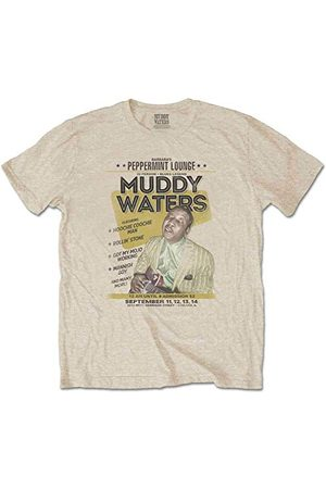 Muddywaters Herr Muddy Waters Peppermint Lounge T-shirt