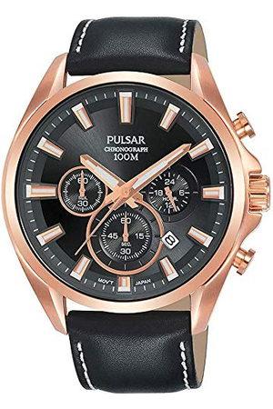 Pulsar Kvartsur med rostfritt stål armband 8431242963686