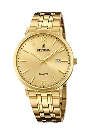Festina Herr analog kvartsklocka med rostfritt stål armband F20513/3
