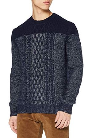 Pierre Cardin Herr Aran Structure stickad pullover pullover