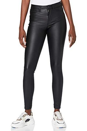 Noisy May Dam NMCALLIE HW SKINNY COATED PANTS NOOS-slang