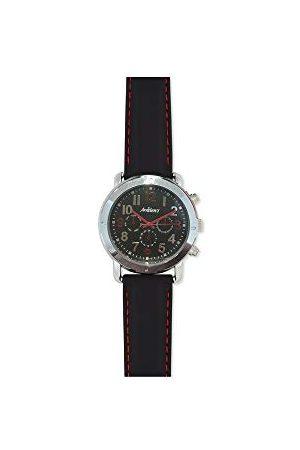 ARABIANS Analog kvartsklocka för män med silikonrem HBA2260N