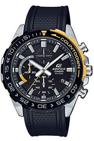 Casio Edifice herr kronograf kvarts armbandsur EFR-566 armband En Storlek
