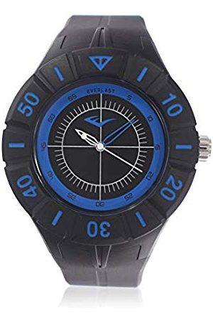 Everlast Unisex vuxna analog kvartsklocka med PU-armband EVER33–226–001