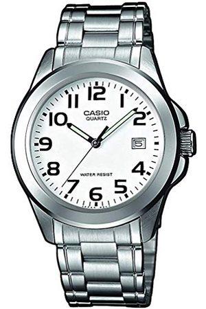 Casio Herr analog kvartsklocka med rostfritt stålarmband MTP-1259PD-7BEF