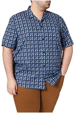 s.Oliver Big Size Man Casual skjortor - Skjorta för män