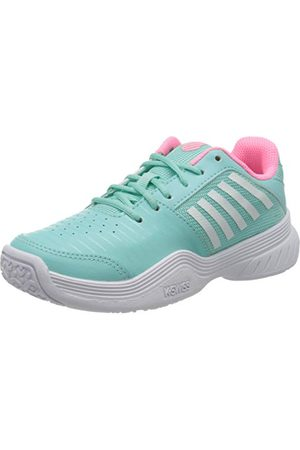 Dunlop Herr Court Express Omni Sneaker, Aruba mjuk neonrosa vit28 EU