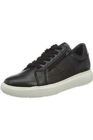 Jana Dam 8-8-23762-25 sneaker, svart40 EU Weit