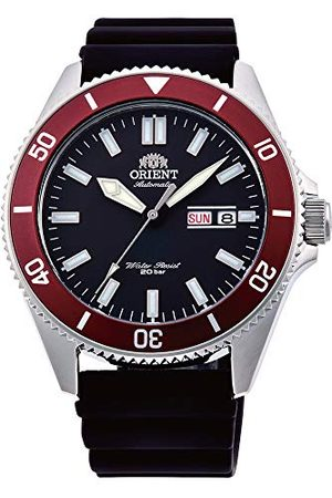 Orient Mäns analog automatisk klocka med silikonarmband RA-AA0011B19B
