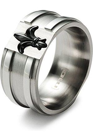 Monomania Herrring lilja rostfritt stål keramik svart Gr. 52 (16,6) 25590 e rostfritt stål, 53 (16,9), cod. 25590-53