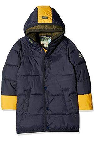 Scotch&Soda Pojkar quiltad jacka med kontrastfärg popdetaljer i längre Le Jacke
