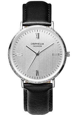 ORPHELIA Fashion herr analog kvartsklocka Alium med läderarmband bandet /