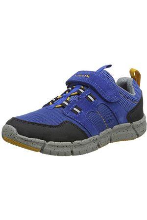 Geox Pojkar J Flexyper Boy C Sneaker, marinblå C0735-32 EU