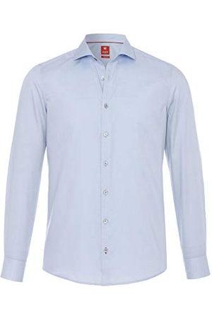 Pure Herr 3380-174 City Red långärmad klassisk skjorta, , XL