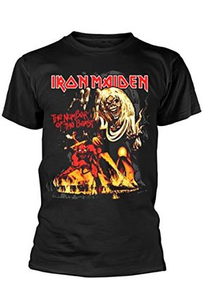 UNKNOWN Iron Maiden Män Number of the Beast Grafisk kortärmad T-shirt