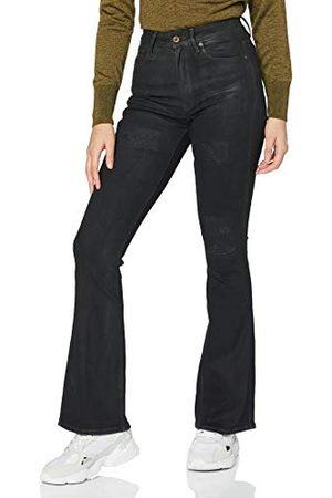 G-Star Dam 3301 hög midja flare skinny jeans
