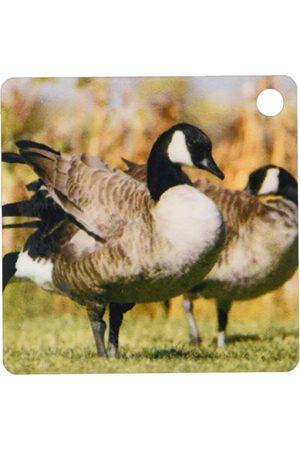 3dRose 3dros kanadensisk gäs, fåglar, älg återbäring, Wyoming Us51 Rnu0013 rulle nötträd nyckelring, 6 cm; varierar