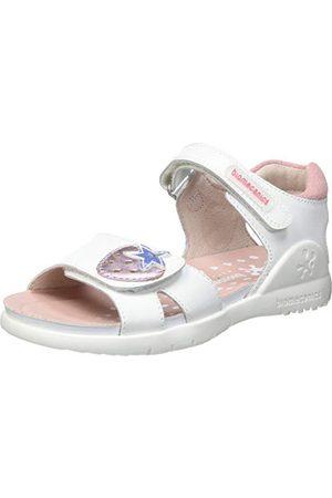 Biomecanics Baby-flicka 212163-b sandaler, Blanco suvage 2-23 EU