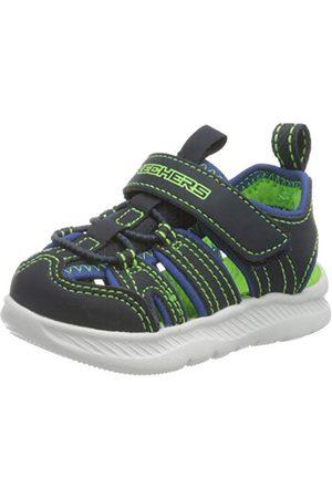 Skechers Pojkar C-flex Ii slutna sandaler, marinblå kunglig syntetisk lime trim Nvlm23 EU