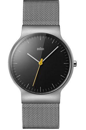 von Braun Unisex-armbandsklocka analog kvarts rostfritt stål BN0211BKSLMHG