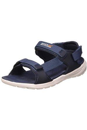 Regatta Herr marin nät 3 poäng justering avtagbar häl rem stötdämpande Eva fotbädd sandaler sportsandal, Mörk denim marinblå47 EU