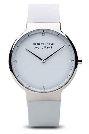 Bering Herr analog kvartsklocka med silikonarmband 15540–904