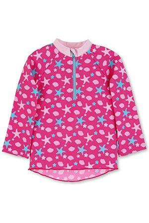 Sterntaler Baby flicka långärmad simmotröja Sealife Rash-Guard skjorta