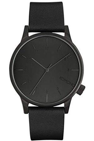Komono Unisex-klocka analog kvarts med läderarmband – KOM-W2264