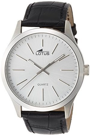 Lotus Herr analog kvartsklocka med läderarmband 15961/1