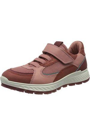 Ecco Flicka exostrike barn marsala syrah damaskros sneaker sneaker, Marsala Syrah Damast Ros40 EU
