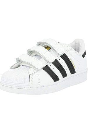 adidas Unisex barn superstar Cf C sneaker, Ftwr kärna Ftwr vit34 EU