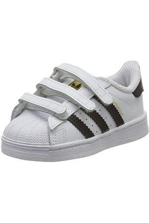 adidas Pojkar Superstar Sneaker, Skor kärna skor vit26 EU