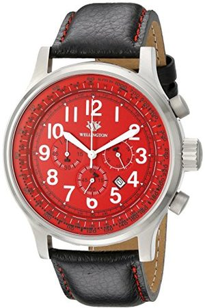 Daniel Wellington Kvartsklocka för män med urtavla kronograf display och rostfritt stålarmband WN302-142
