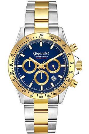 Gigandet Analog kvarts klocka med rostfritt stål armband G33-004