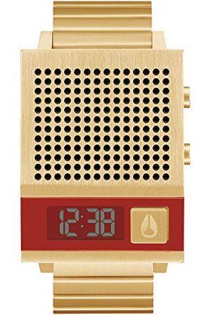 Nixon Digital klocka för män med armband i rostfritt stål A1266-502-00