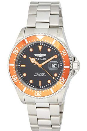 Invicta 22022 Pro Diver herrar klocka rostfritt stål kvarts svart urtavla