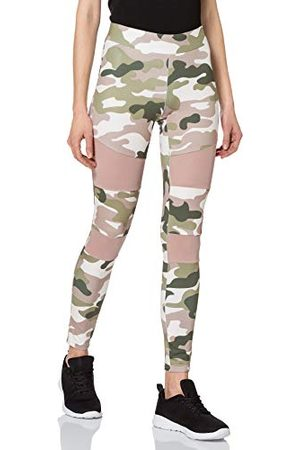 Urban classics Damer kvinnor camo Tech Mesh Leggings