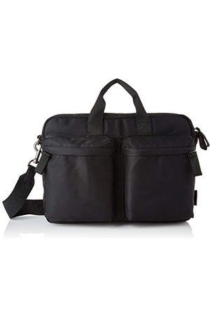 Marc O' Polo Herr Louin Business Bag M, en storlek, SVARTEinheitsgröße