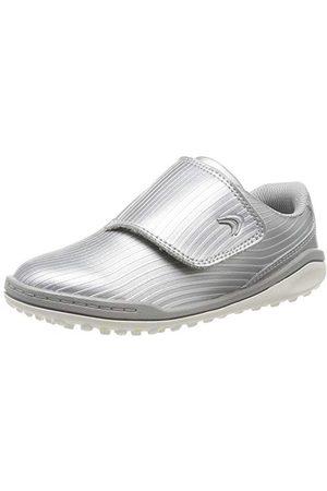 Clarks Pojkar kretsvift K Sneaker, Silver29.5 EU