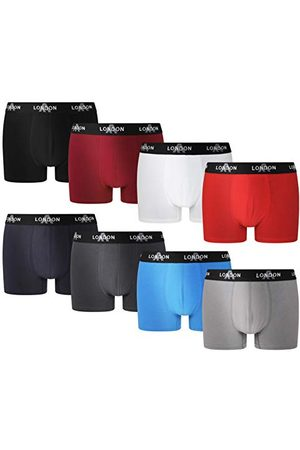 FM London Herr Fitted Boxer Hipster (8-pack)
