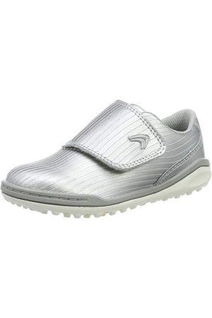 Clarks Pojkar kretsvift T-sneaker, Silver24 EU
